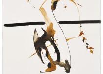 2010 Bato, Linea d'ombra,tecnica mista su tela 110x110 GZ