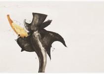 2015 Bato, Leviatano, cm 100x150, tecnica mista su tela