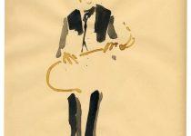 Bato, Andrea Tardioli ascolta, tecnica mista su carta cm 33x23, Roma, Hot Jazz Caffè 3/12/2012