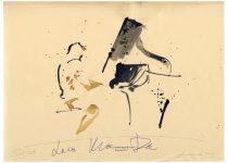 Bato, Luca Mannutza, tecnica mista su carta, cm 23x33. Lanciano, 19/09/2012