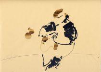 Bato, Gianfranco Malorgio, tecnica mista su carta, cm 23x35. Artena 23/06/2012