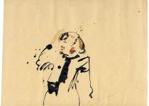 Bato, Marta Neri, tecnica mista su carta cm 22x24,5_Roma, Acrobax 23/03/2013