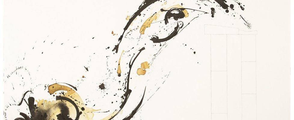 2015 Bato, Tuffatore cm 150x200 tecnica mista su tela