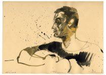Bato, Francesco Di Cicco, tecnica mista su carta, cm 35x23. Roma 15/02/2007