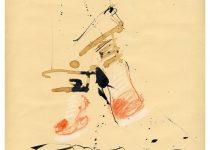 Bato, Le scarpe di Francesco Mazzeo, tecnica mista su carta cm 26,5x22_Roma, Acrobax 23/03/2013