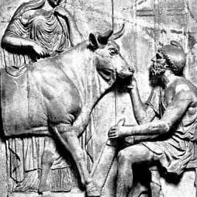 Dedalo, scultura antica